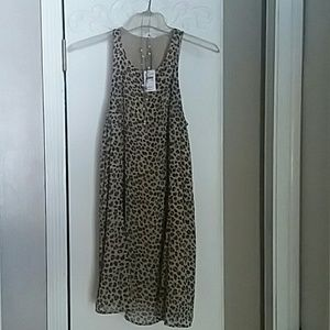 NWT Abercrombie and Fitch Leopard swing dtesd